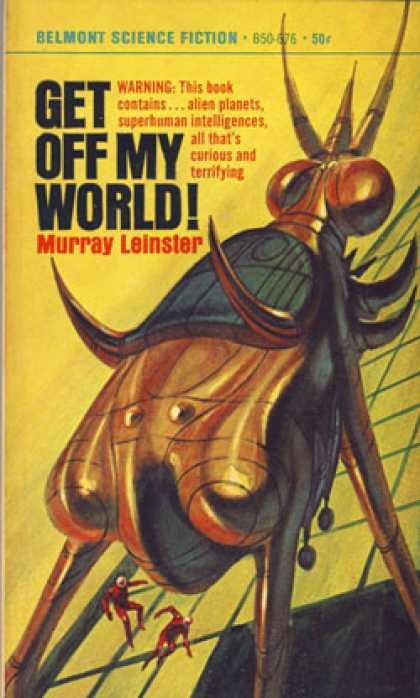 Vintage Books - Get Off My World! Second Landing, White Spot, Planet of Sand