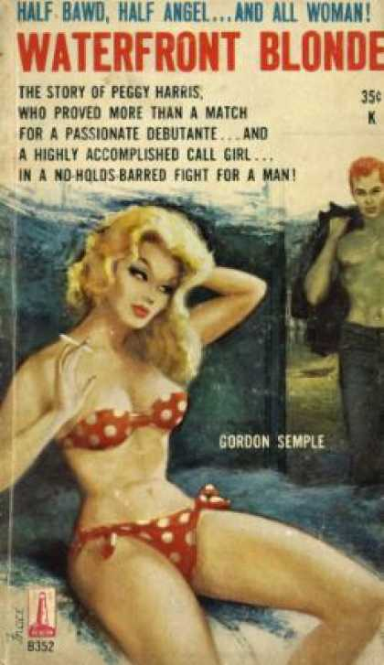 Vintage Books - Waterfront Blonde