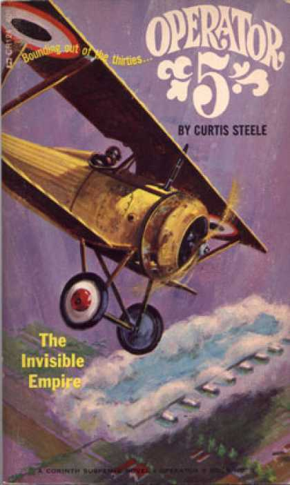 Vintage Books - Operator 5, The invisible empire - Curtis Steele