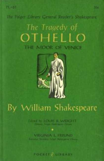 Vintage Books - Othello, the Folger Library General Reader's Shakespeare - William Shakespeare