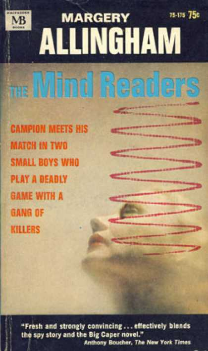 Vintage Books - The Mind Readers - Margery Allingham