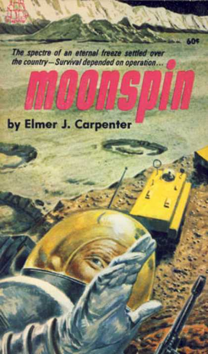 Vintage Books - Moonspin - Elmer J. Carpenter