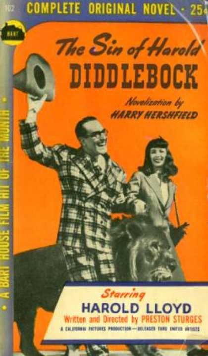 Vintage Books - The Sin of Harold Diddlebock - Harry Hershfield
