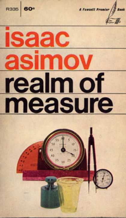 Vintage Books - Realm of Measure - Isaac Asimov