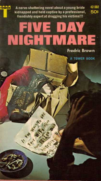 Vintage Books - Five Day Nightmare - Fredric Brown