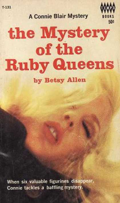Vintage Books - The Mystery of the Ruby Queens - Betsy Allen
