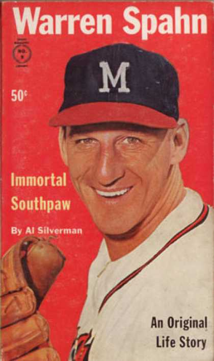 Vintage Books - Warren Spahn, Immortal Southpaw - Al Silverman
