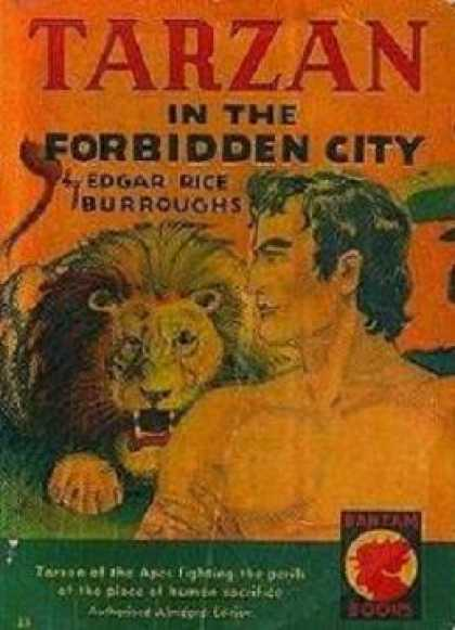 Vintage Books - Tarzan in the Forbidden City - Edgar Rice Burroughs