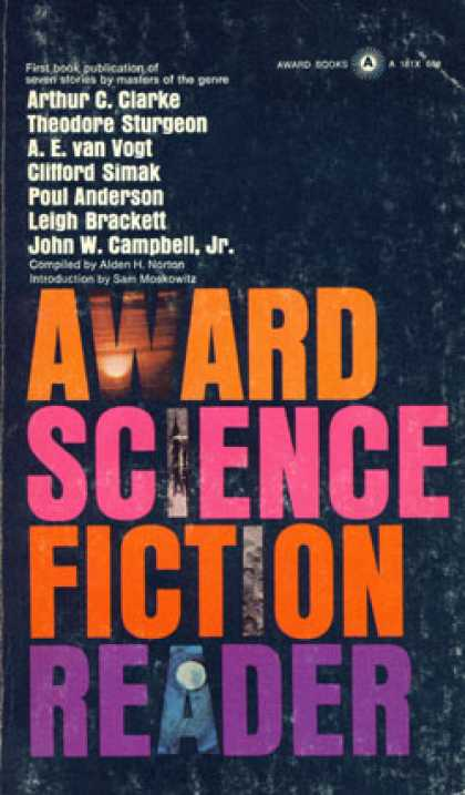 Vintage Books - The Award Science Fiction Reader