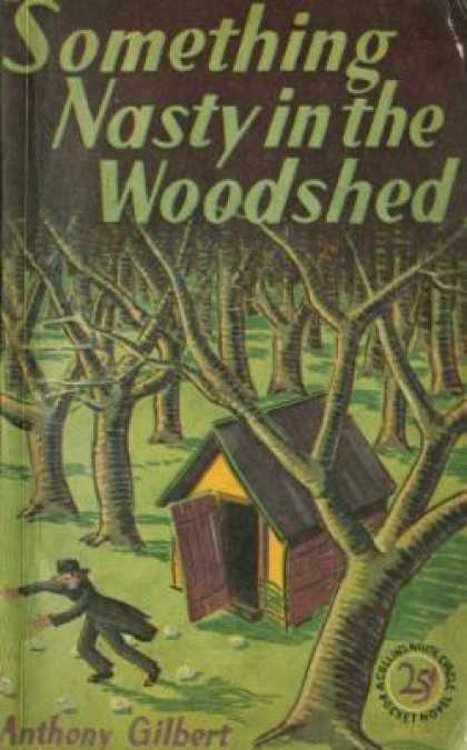 Vintage Books - Something Nasty in the Woodshed - Anthony Gilbert