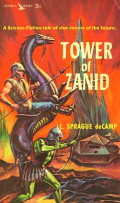 Vintage Books - Tower of Zanid