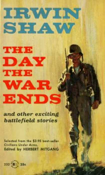 Vintage Books - The Day the War Ends - Irwin Shaw