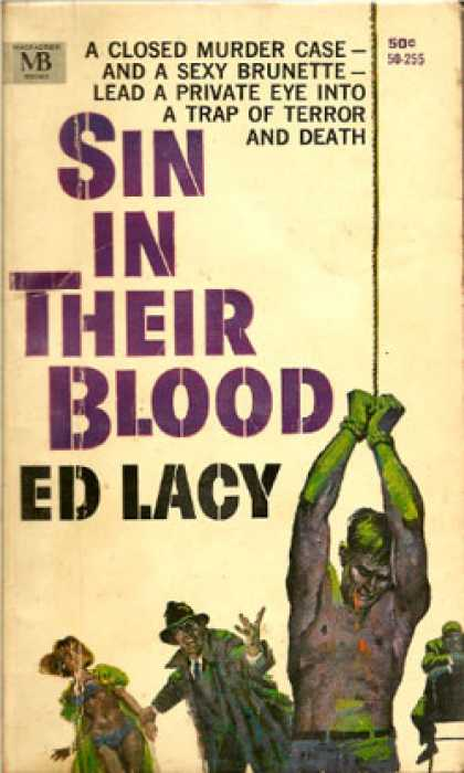 Vintage Books - Sin In Their Blood - Ed Lacy