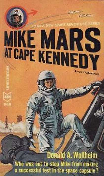Vintage Books - Mike Mars at Cape Kennedy - Donald A. Wollheim