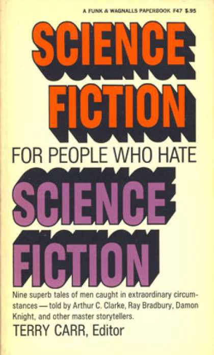 Vintage Books - Science Fiction for People Who Hate Science Fiction