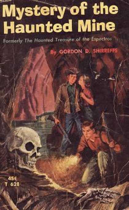Vintage Books - Mystery of the Haunted Mine