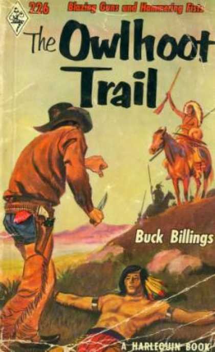 Vintage Books - The Owlhoot Trail - Buck Billings