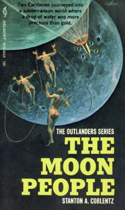 Vintage Books - The Moon People - Stanton A. Coblentz