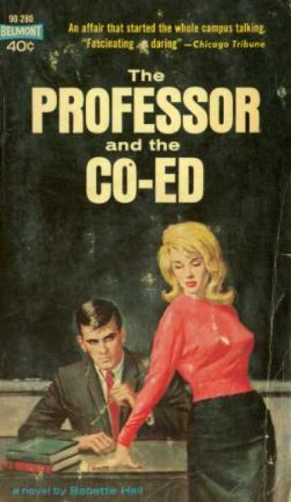 Vintage Books - The Professor and the Co-ed - Babette Hall