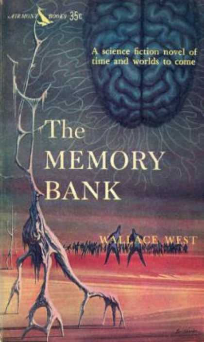 Vintage Books - The Memory Bank - Wallace West