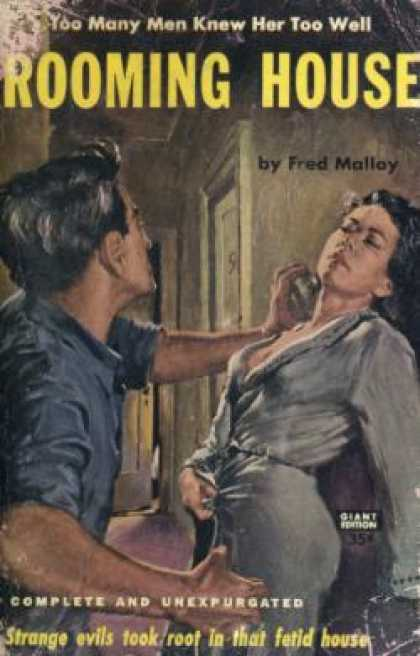 Vintage Books - Rooming House - Fred Malloy