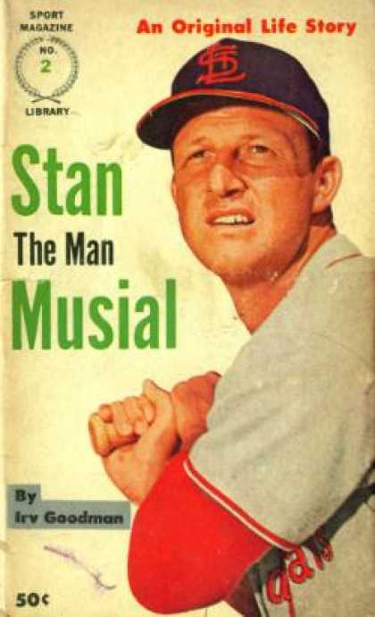 Vintage Books - Stan the Man Musial, an Original Life Story