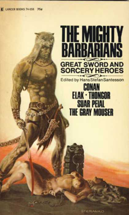 Vintage Books - The Mighty Barbarians: Conan, Elak, Thongor