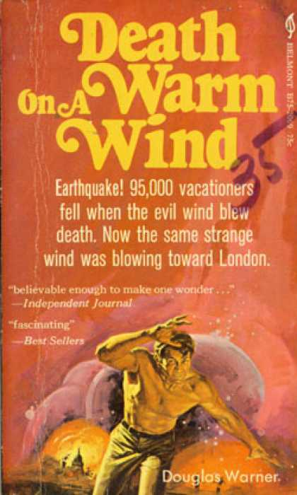 Vintage Books - Death On a Warm Wind - Douglas Warner