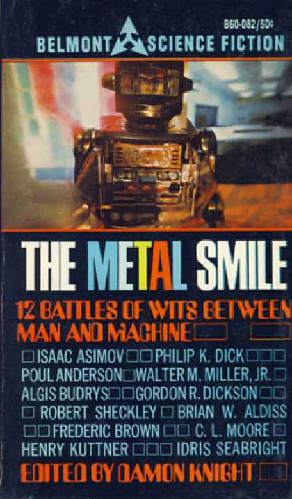 Vintage Books - Metal Smile - Damon Knight
