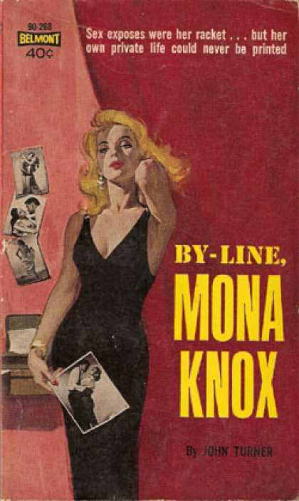 Vintage Books - By-line, Mona Knox: The New Novel - John Turner