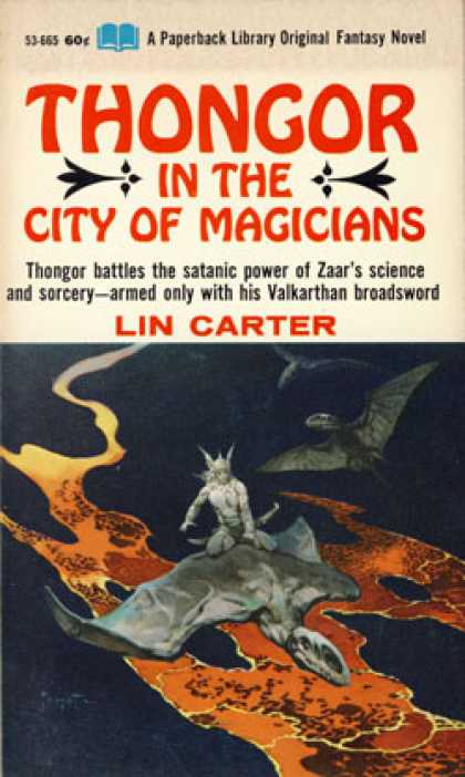 Vintage Books - Thongor In the City of Magicians - Lin Carter
