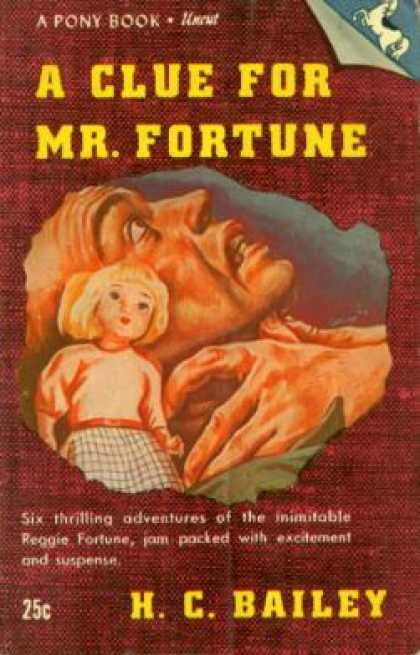 Vintage Books - A Clue for Mr. Fortune - H.c. Bailey