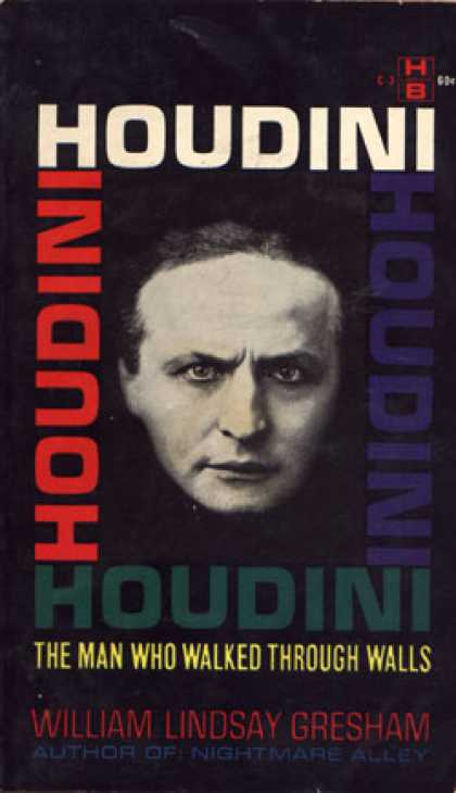Vintage Books - Houdini - William Lindsay Gresham