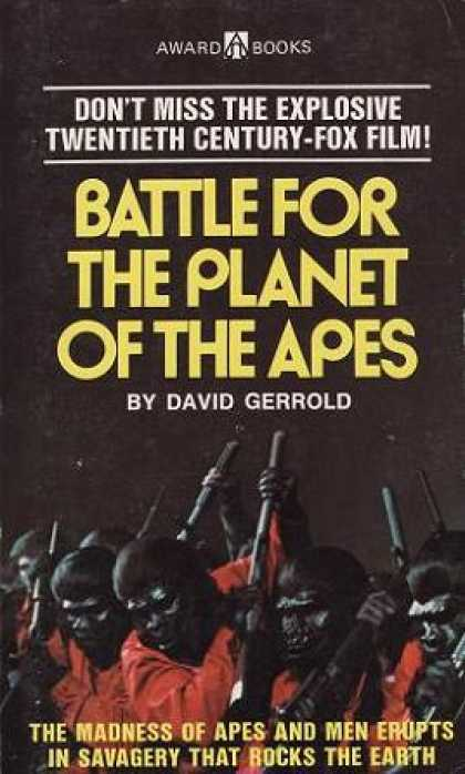 Vintage Books - Battle for the Planet of the Apes
