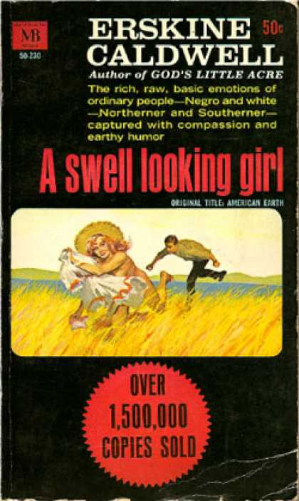 Vintage Books - A Swell Looking Girl - Erskine Caldwell