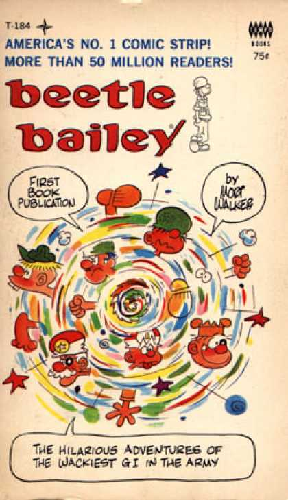 Vintage Books - Beetle Bailey
