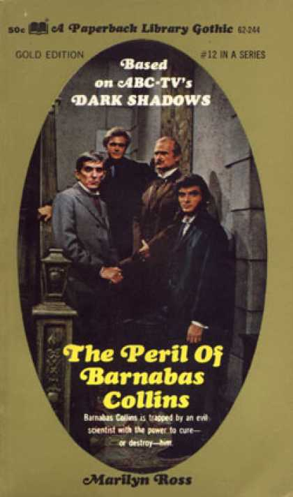 Vintage Books - The Peril of Barnabas Collins - Marilyn Ross