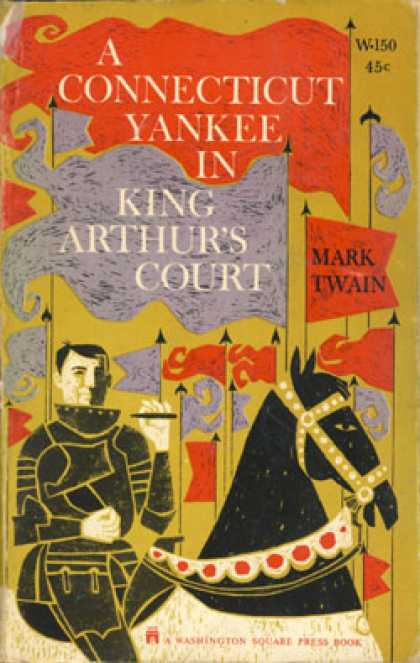 Vintage Books - A Connecticut Yankee In King Arthur's Court