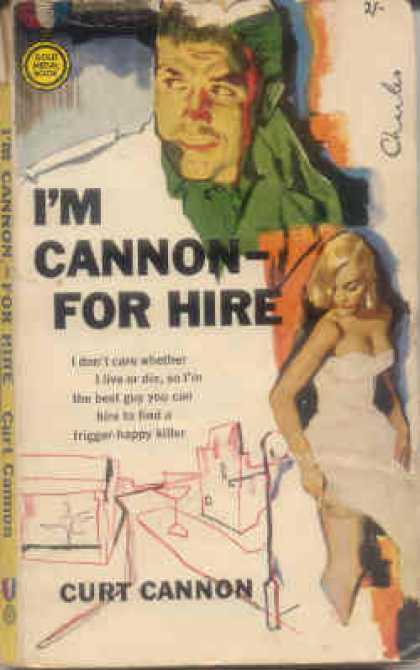 Vintage Books - I'm Cannon-: For Hire