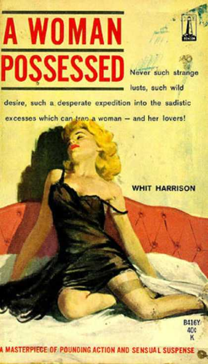 Vintage Books - A Woman Possessed - Whit Harrison