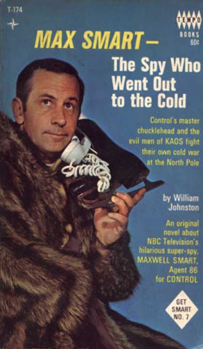 Vintage Books - Max Smart, the Spy Who Went Out To the Cold - William Johnston