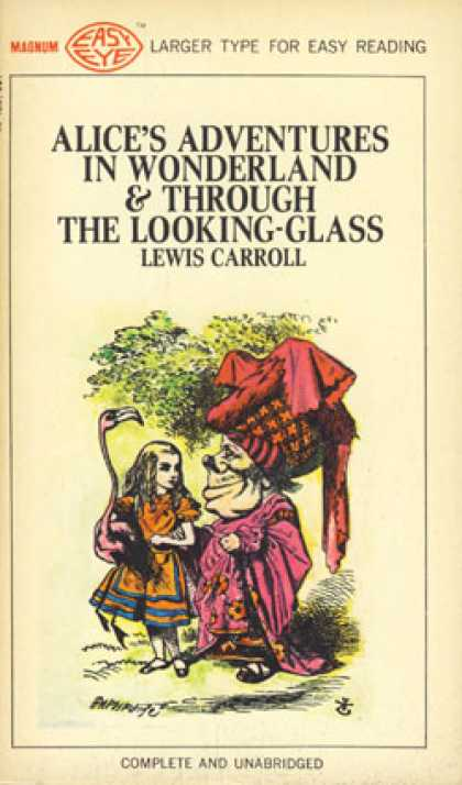 Vintage Books - Alice's Adventures In Wonderland & Through the Looking Glass