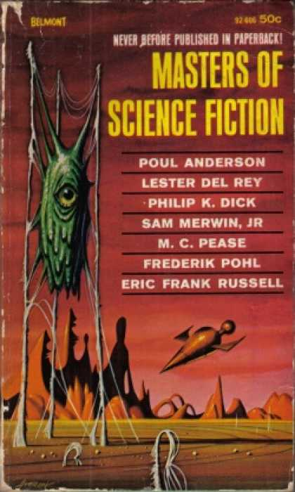 Vintage Books - Masters of Science Fiction.