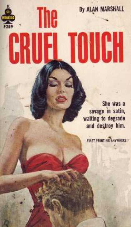 Vintage Books - The Cruel Touch - Alan Marshall