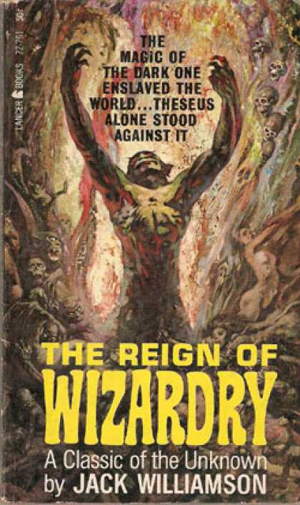 Vintage Books - The Reign of Wizardry - Jack Williamson