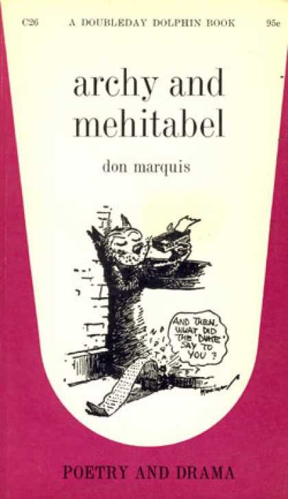 Vintage Books - Archy and Mehitabel - Don Marquis