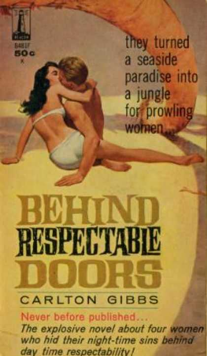 Vintage Books - Behind Respectable Doors