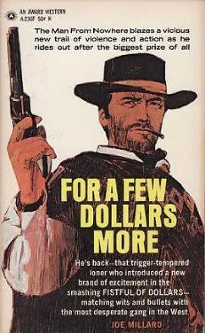 Vintage Books - For a Few Dollars More - Joe Millard