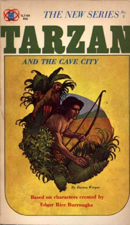 Vintage Books - Tarzan and the Cave City - Barton Werper