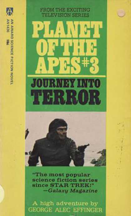 Vintage Books - Planet of the Apes 3 Journey Into Terror